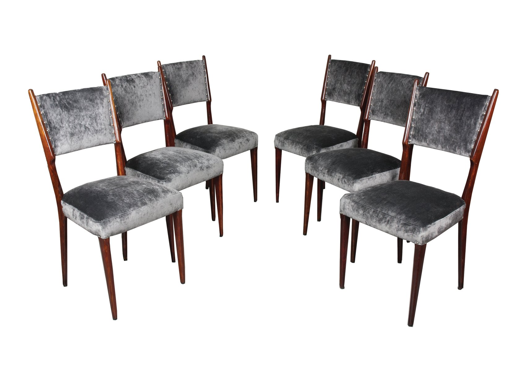 vintage esszimmerst hle von paolo buffa 6er set bei pamono kaufen. Black Bedroom Furniture Sets. Home Design Ideas