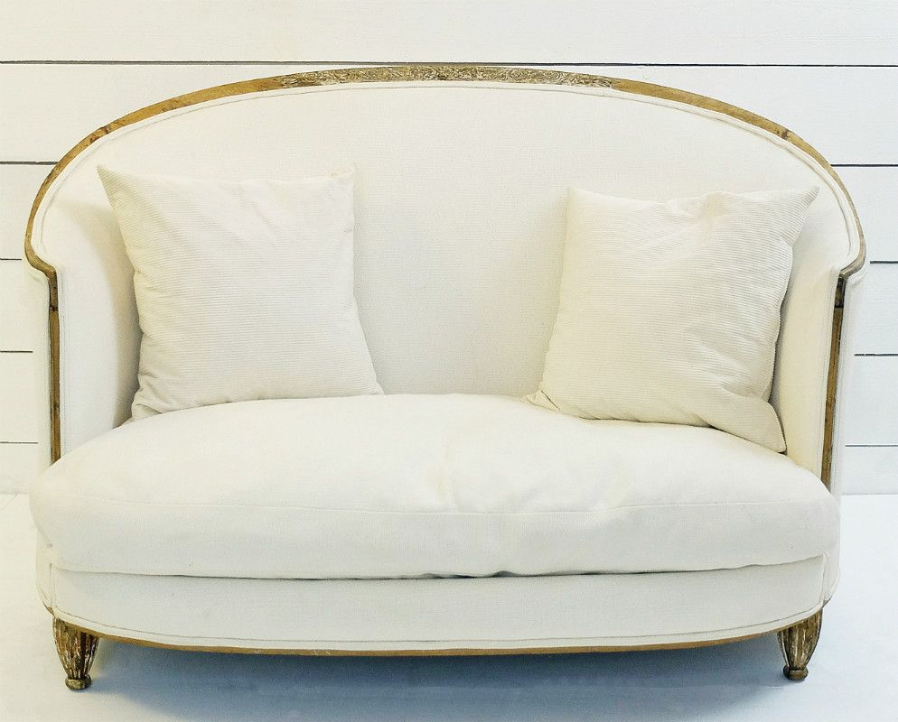 White Vintage Sofa 1920s For Sale At Pamono