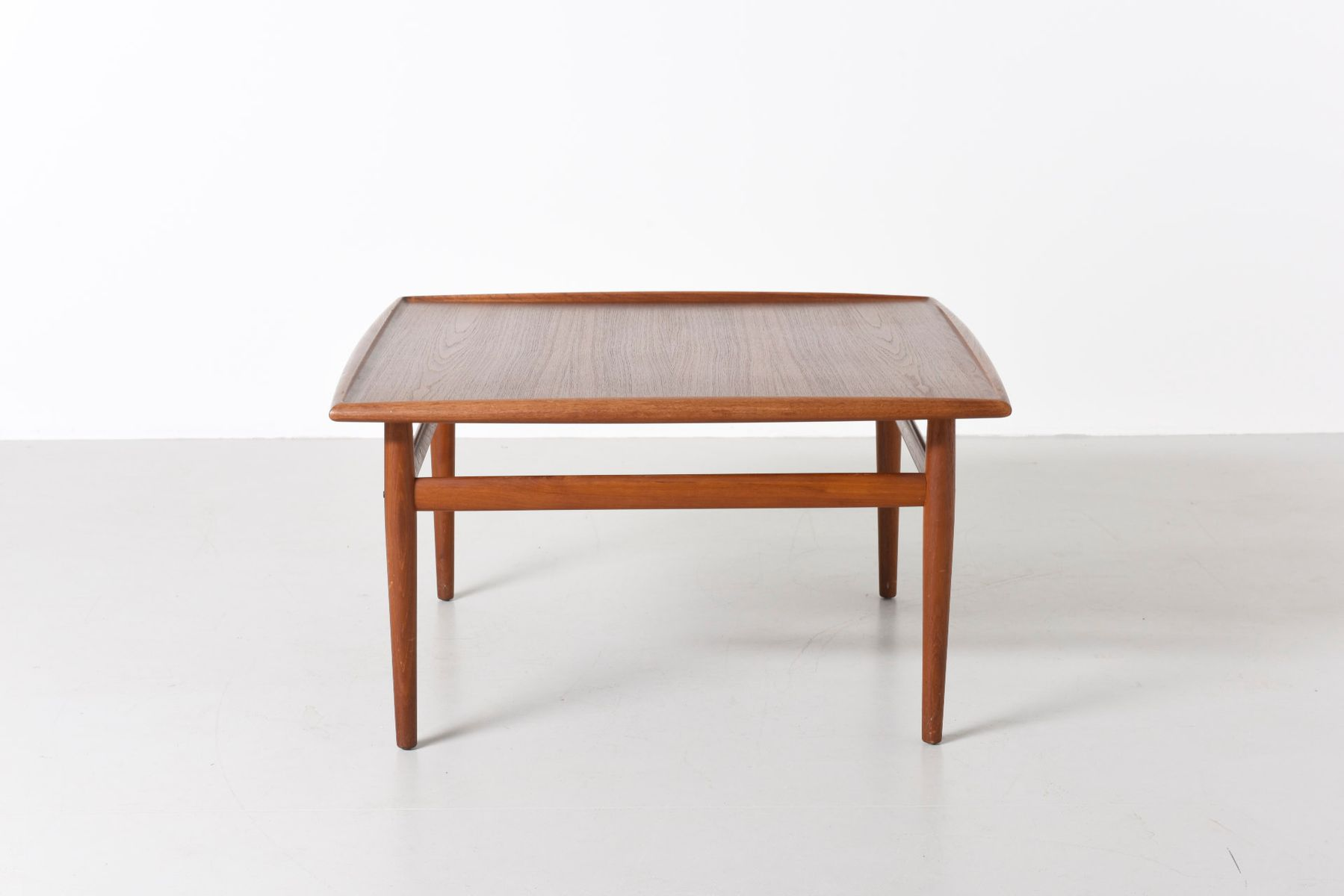 Vintage Coffee Table by Grete Jalk for France and S¸n for sale at