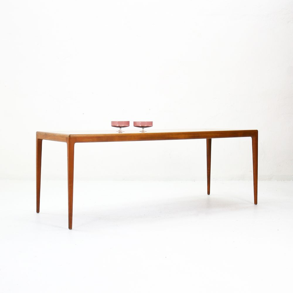Vintage Coffee Table In Walnut 1960s For Sale At Pamono