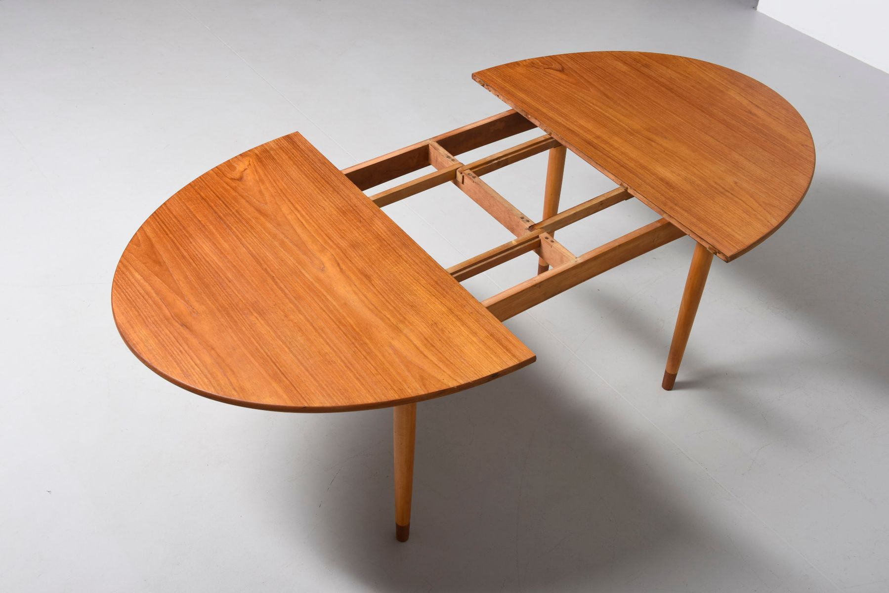 Teak Oval Dining Table Mid Century Oval Dining Table In Teak By Brge Mogensen For Soborg