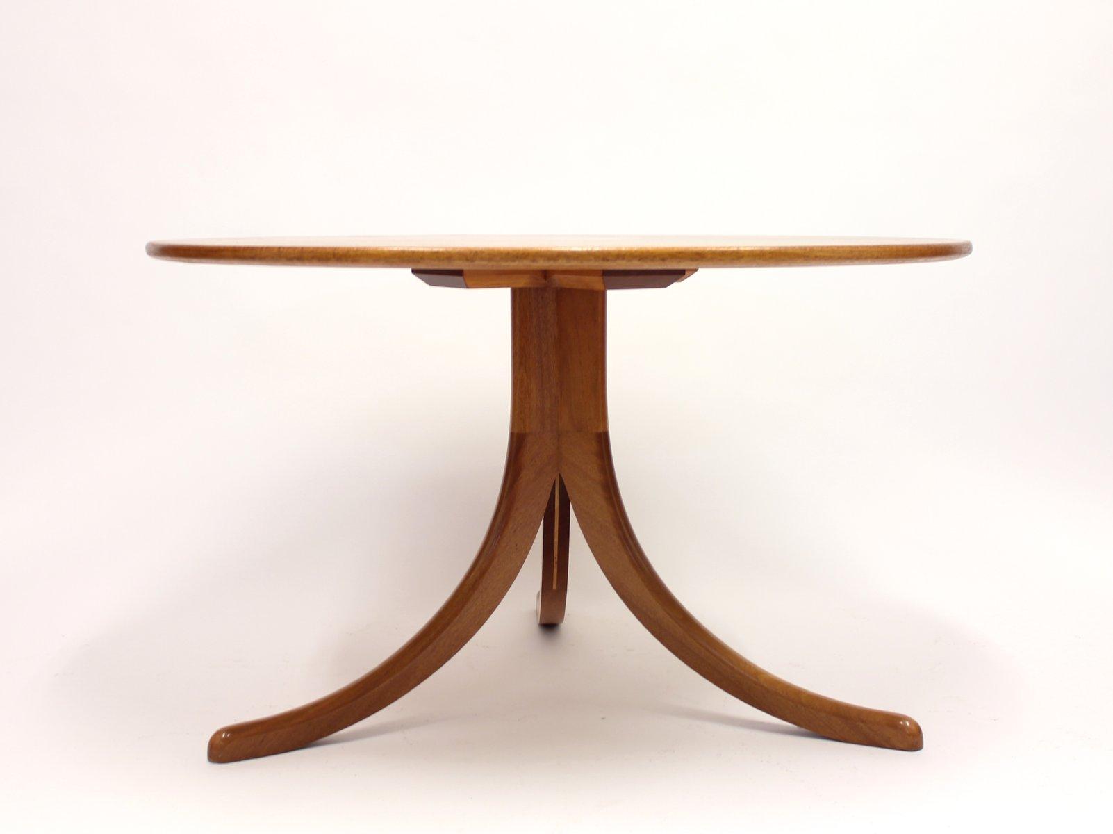1020 Pyramid Mahogany Sofa Table By Josef Frank For