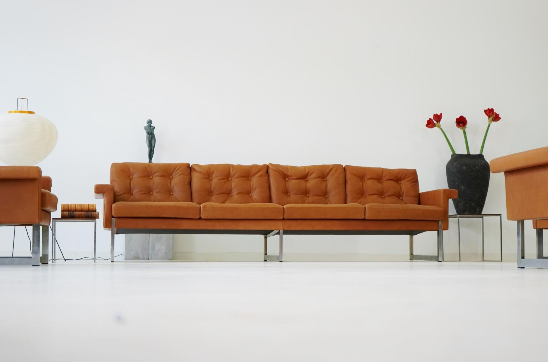 Four Seater Sofa & Lounge Chairs from Kill International 1967 for