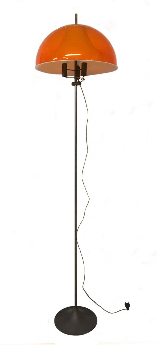 Italian Floor Lamp by Gino Sarfatti for Arteluce 1960s for sale