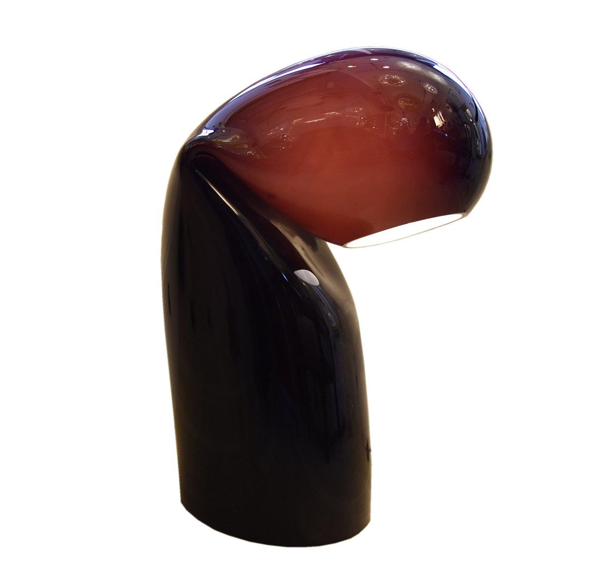 schwarze vintage bissa lampe von vistosi 1970er bei pamono kaufen. Black Bedroom Furniture Sets. Home Design Ideas