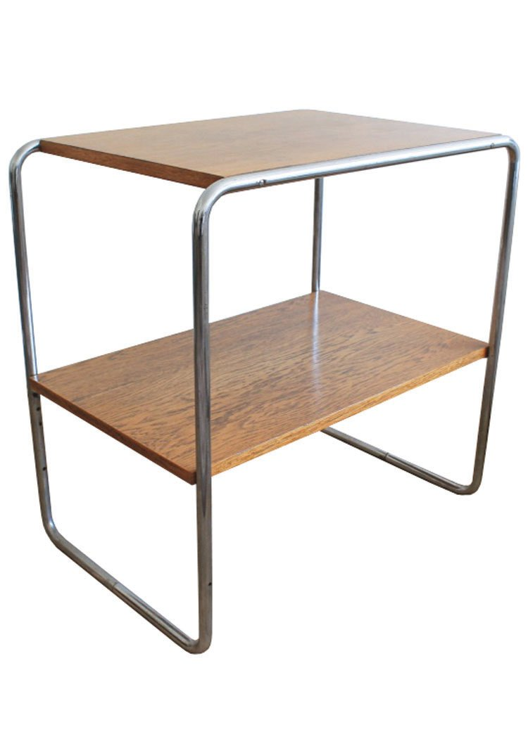 vintage b12 console table by marcel breuer for sale at pamono. Black Bedroom Furniture Sets. Home Design Ideas