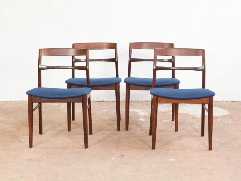 d nische esszimmerst hle von vejle stole og mobelfabrik 4er set bei pamono kaufen. Black Bedroom Furniture Sets. Home Design Ideas
