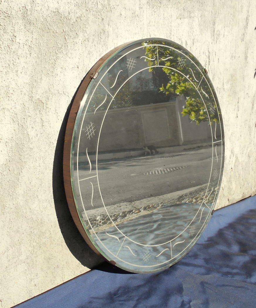 Italienischer art deco spiegel von fontana arte 1930er bei pamono kaufen - Deco spiegel ...