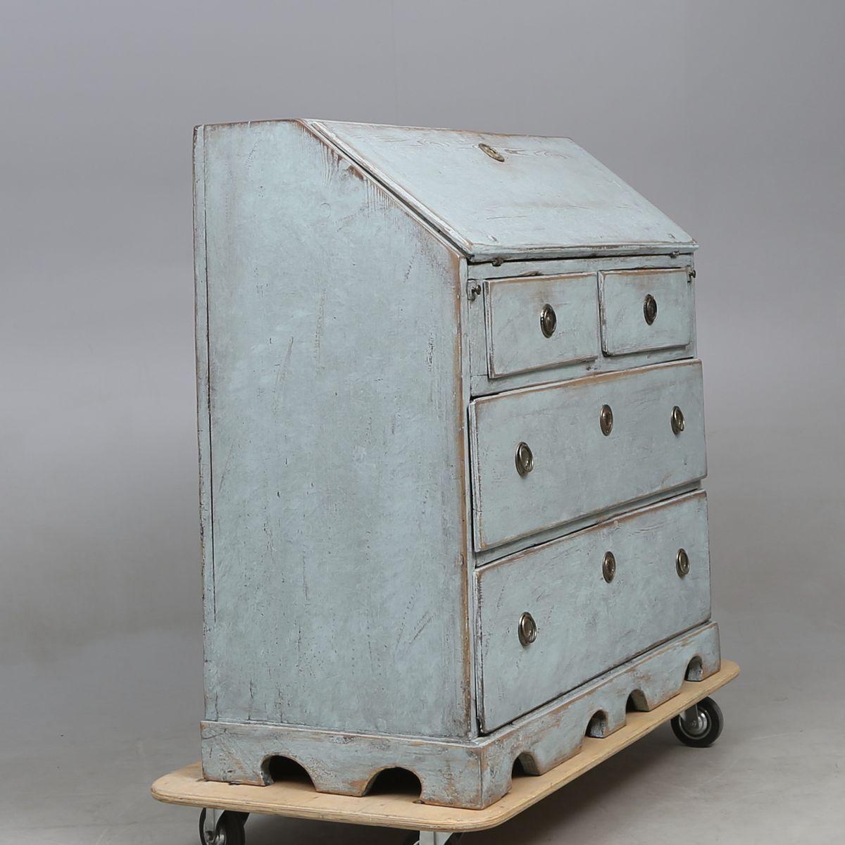 Antique Swedish Secretaire - Antique Swedish Secretaire For Sale At Pamono