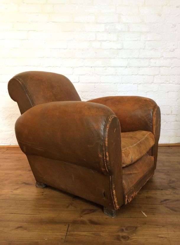 price per piece - Leather Club Chairs