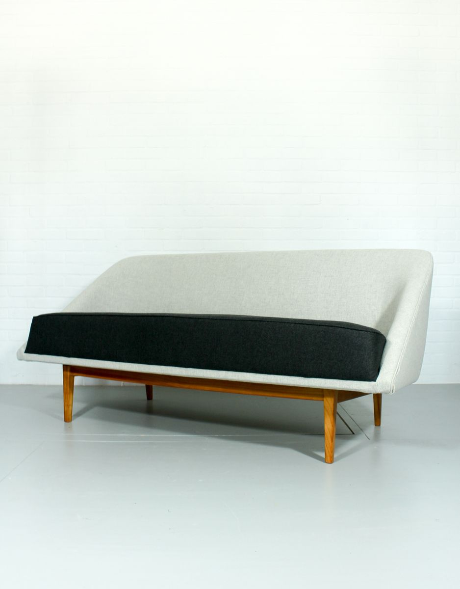 Mid Century Sofa With Wool Upholstery For Sale At Pamono