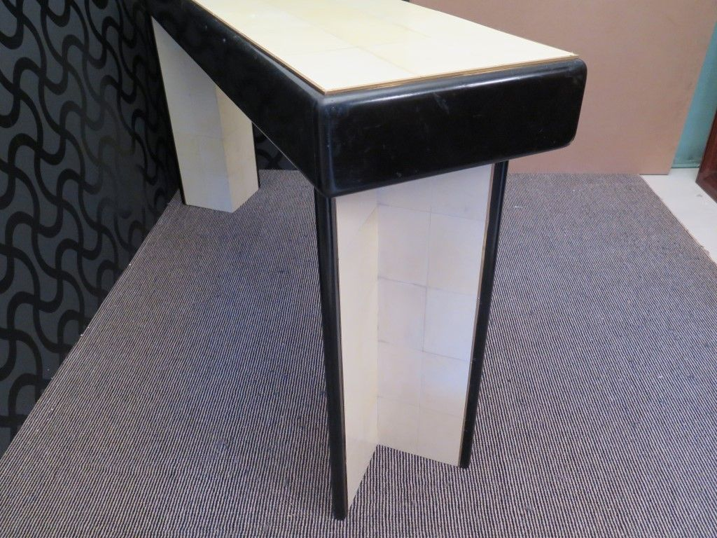 art deco console table 1940s for sale at pamono. Black Bedroom Furniture Sets. Home Design Ideas