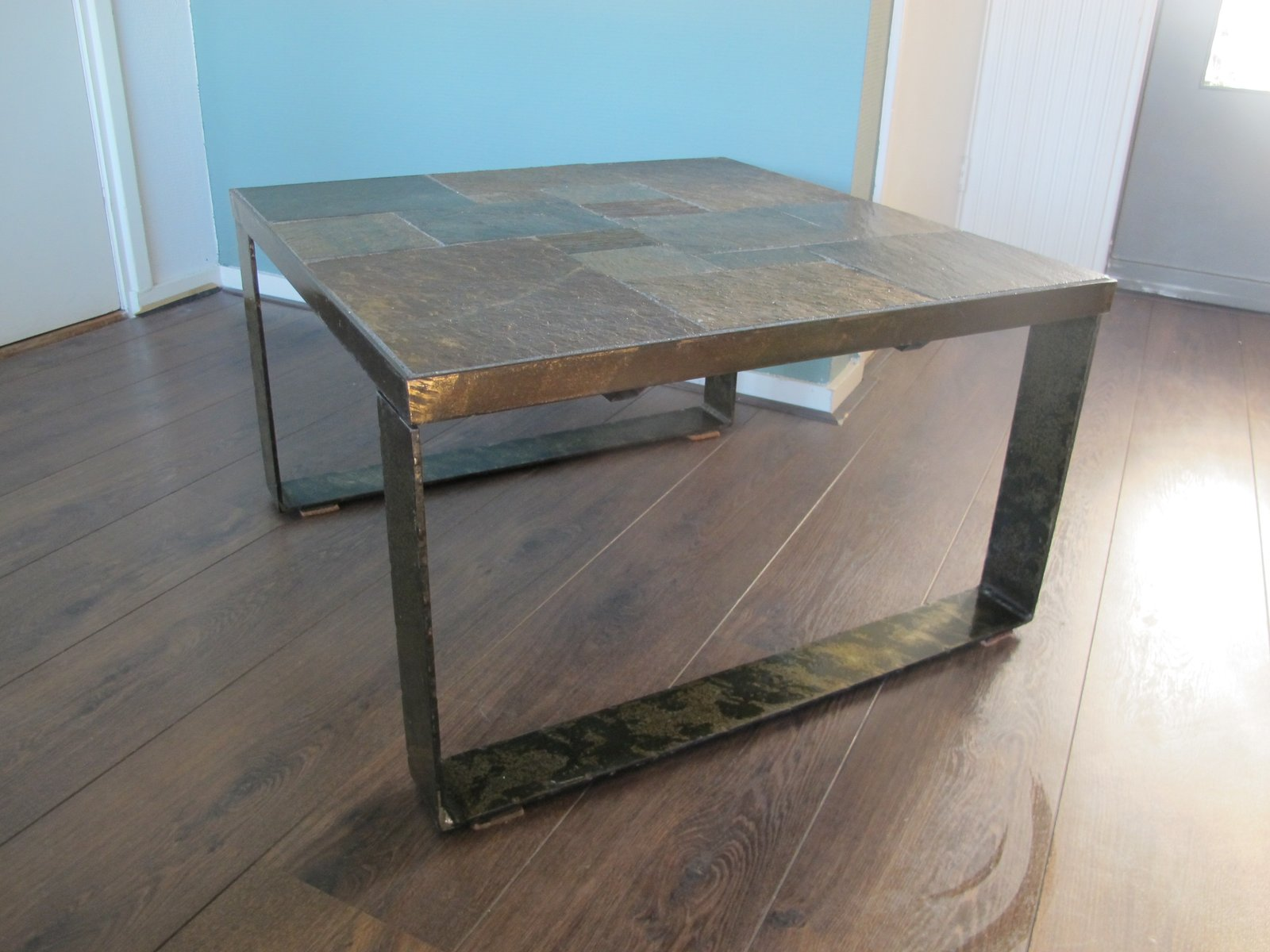 Mid Century Brutalist Side or Coffee Table 1960s for sale at Pamono