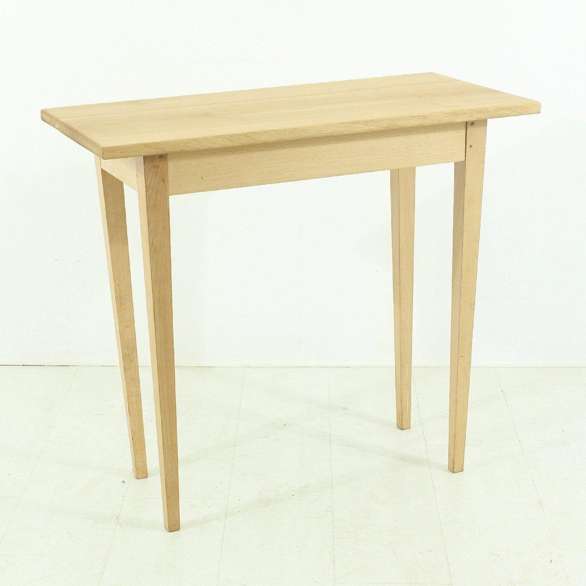 vintage tisch aus buche und eiche bei pamono kaufen. Black Bedroom Furniture Sets. Home Design Ideas
