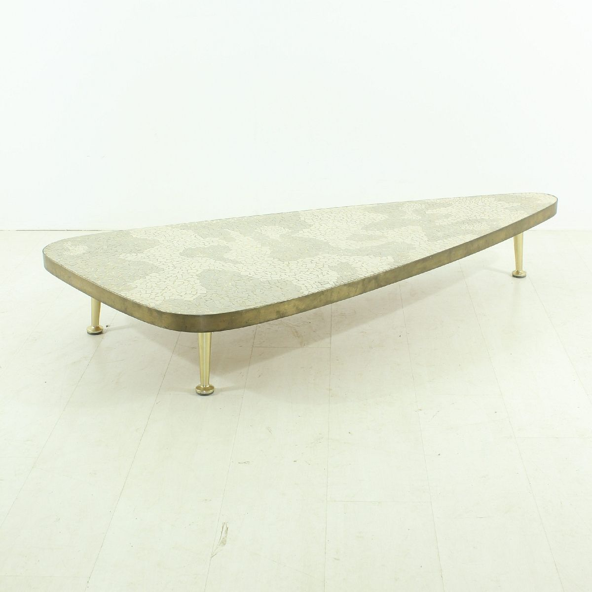 Vintage Grey White Coffee Table 1950s For Sale At Pamono