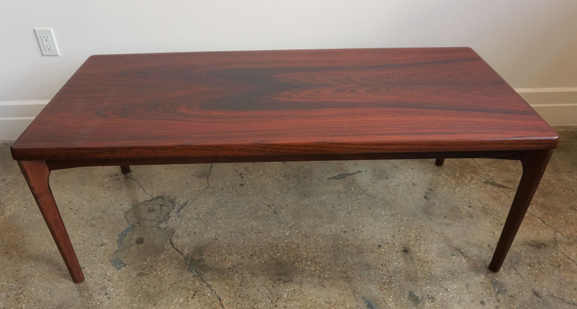 Rosewood Coffee Table by Henning Kjaernulf for Vejle Stole