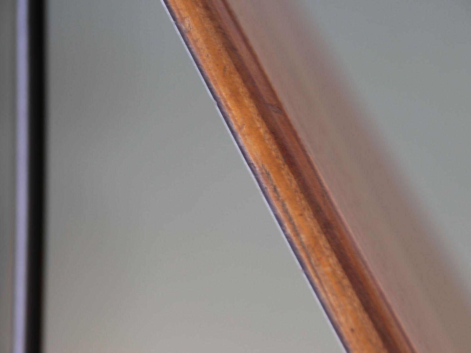 Couchtisch aus Schichtholz & Schwarzem Metall, 1950er bei
