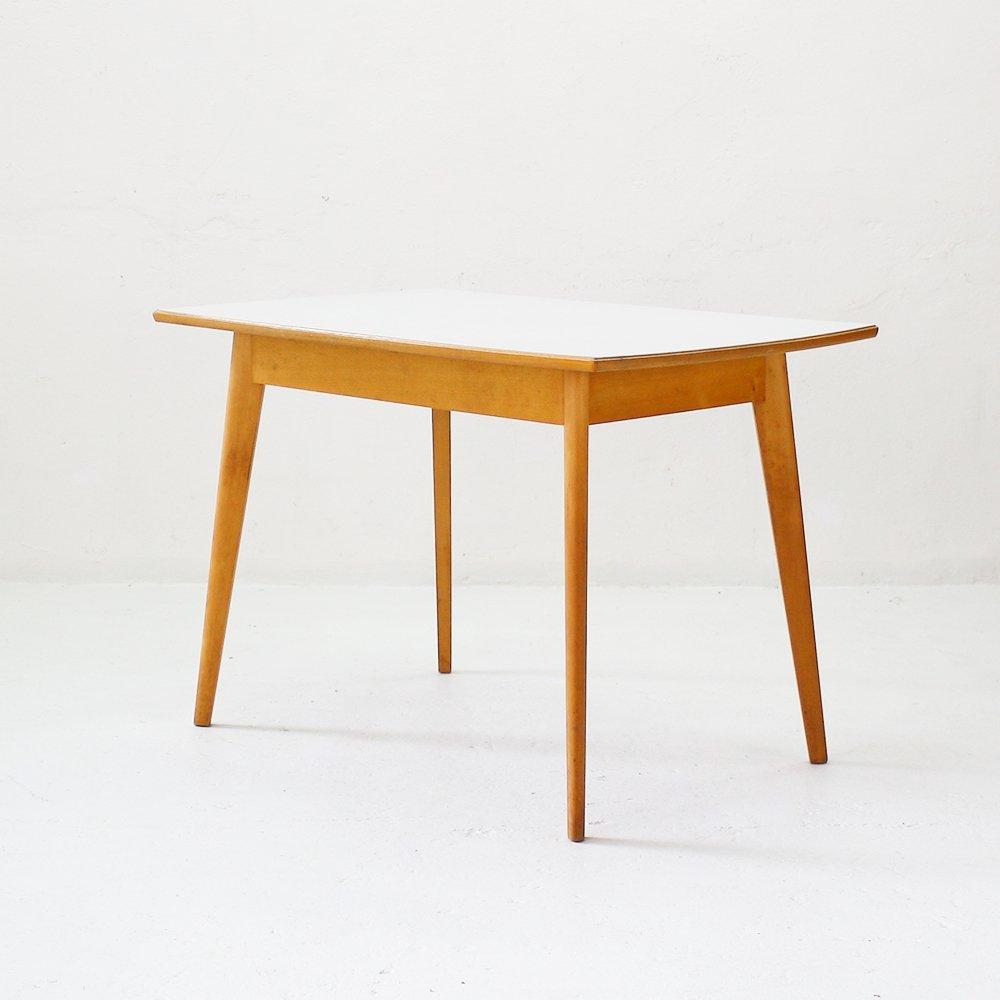 k chentisch mit formica platte 1950er bei pamono kaufen. Black Bedroom Furniture Sets. Home Design Ideas