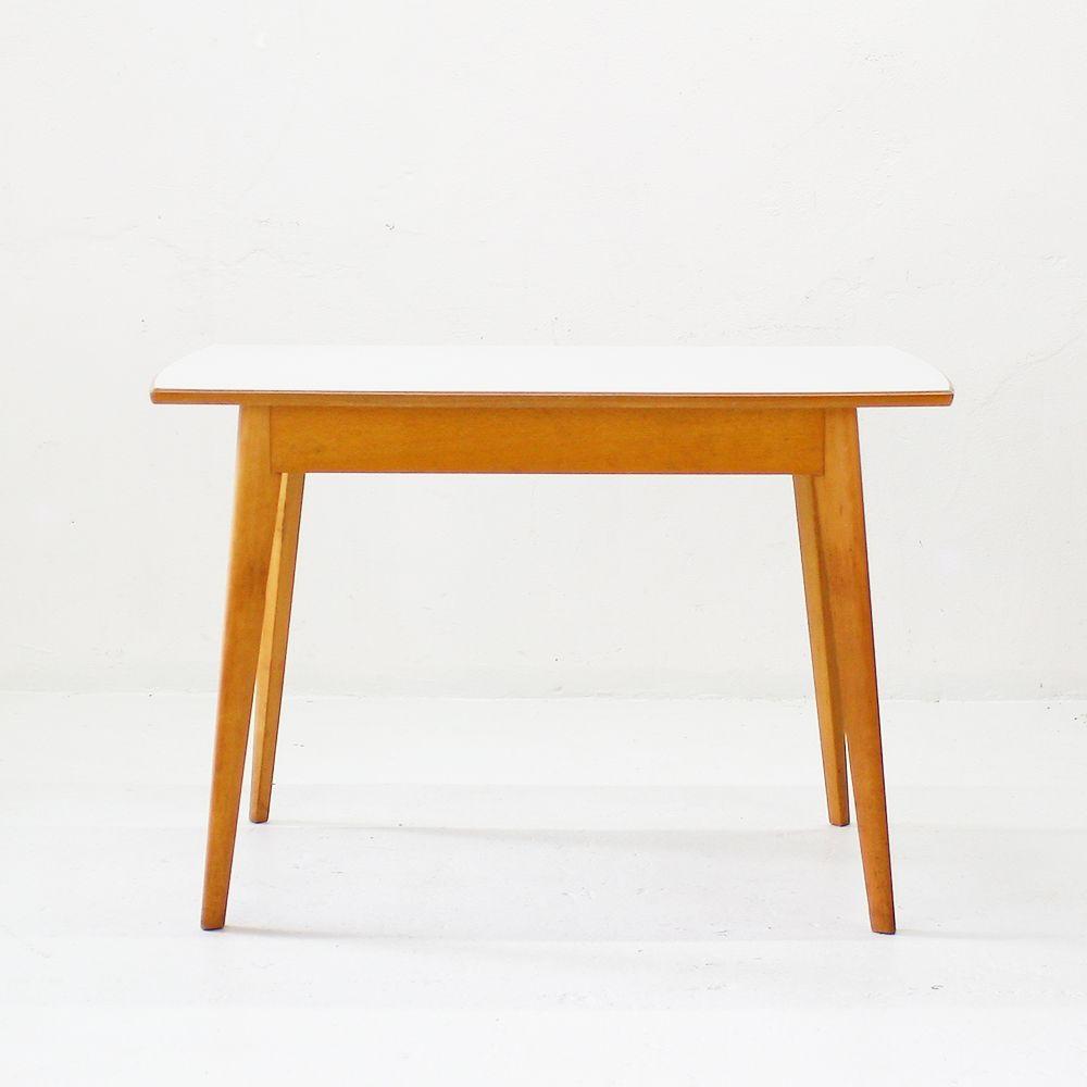 Table de cuisine avec plateau en formica 1950s en vente for Plateau table cuisine