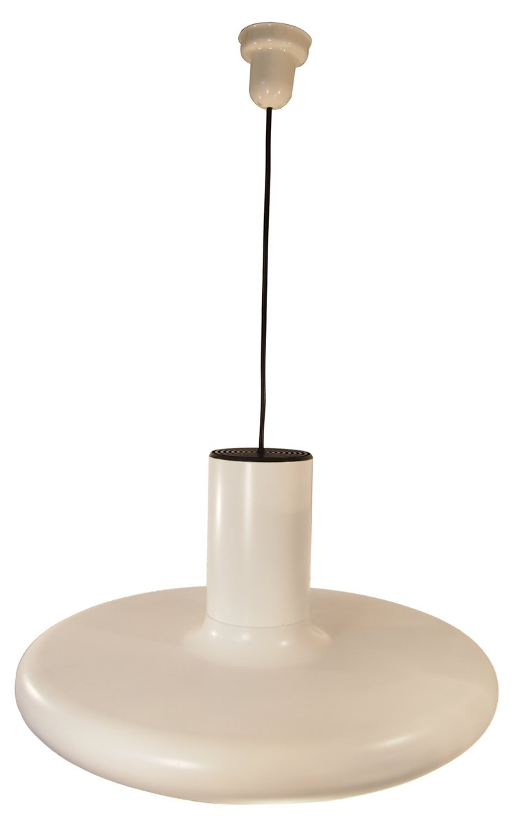 Vintage Large White Industrial French Pendant Ceiling Light from Lita 1960  sc 1 st  Pamono & Vintage Large White Industrial French Pendant Ceiling Light from ... azcodes.com