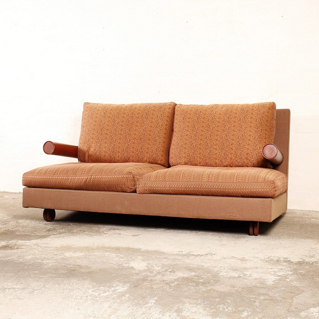 Vintage Baisity Two Seater Sofa By Antonio Citterio For B