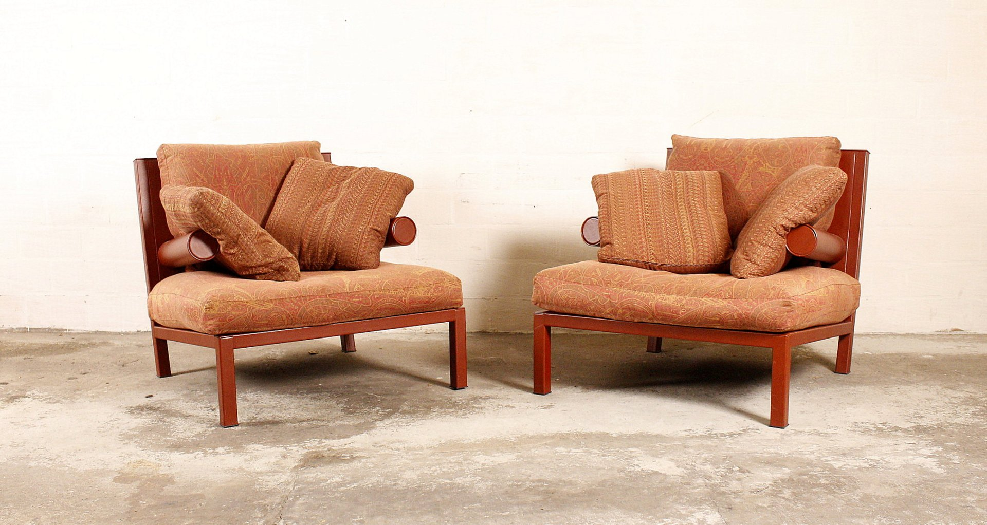 Vintage baisity armchairs by antonio citterio for b b for Antonio citterio