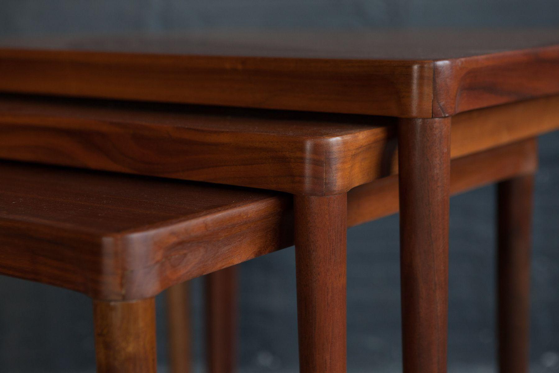 satztische von hans olsen 1950er bei pamono kaufen. Black Bedroom Furniture Sets. Home Design Ideas