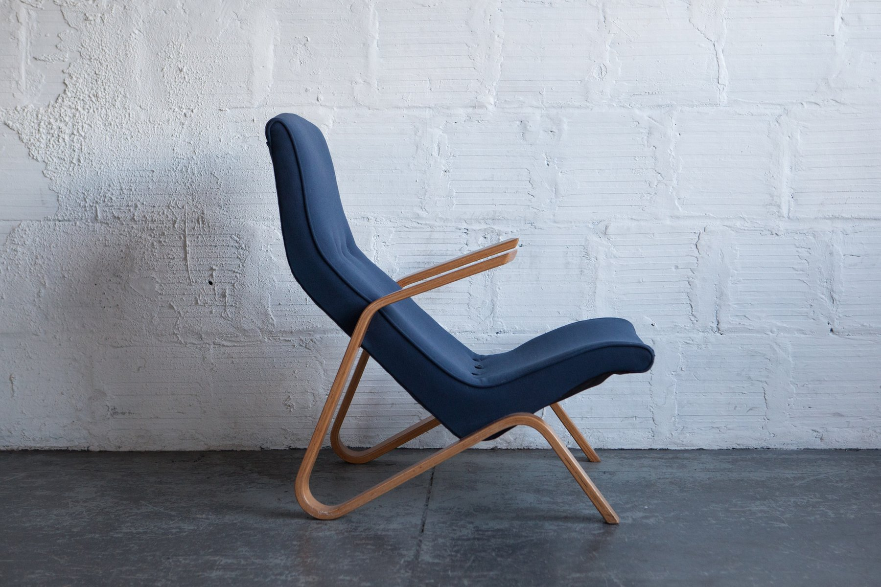 Vintage Grasshopper Chair by Eero Saarinen for Knoll for sale at