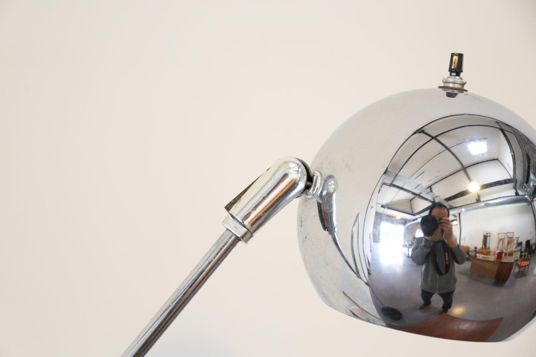 Vintage Orbiter Floor Lamp by Robert Sonneman for sale at Pamono