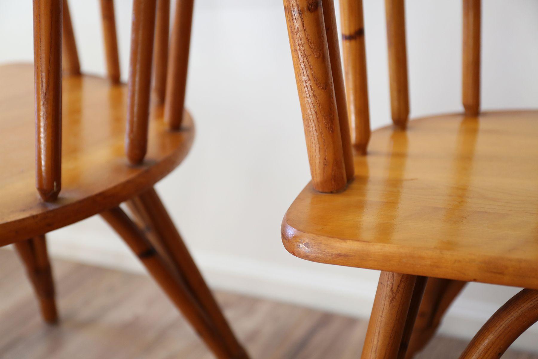 Mid Century Ashcraft Armchairs from Heywood Wakefield Set of 2