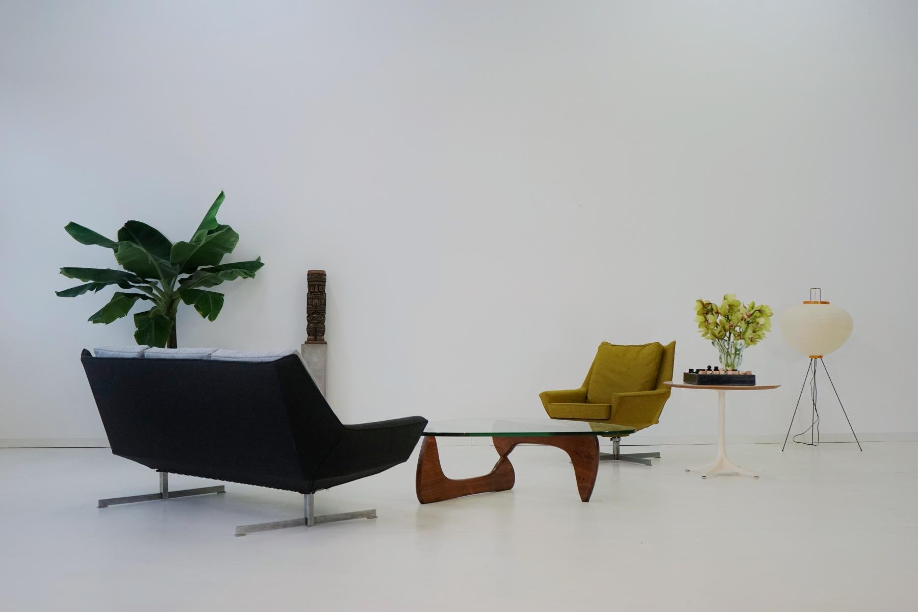 Mid century canap sofa from knoll for sale at pamono for Canape 1 50x2 00