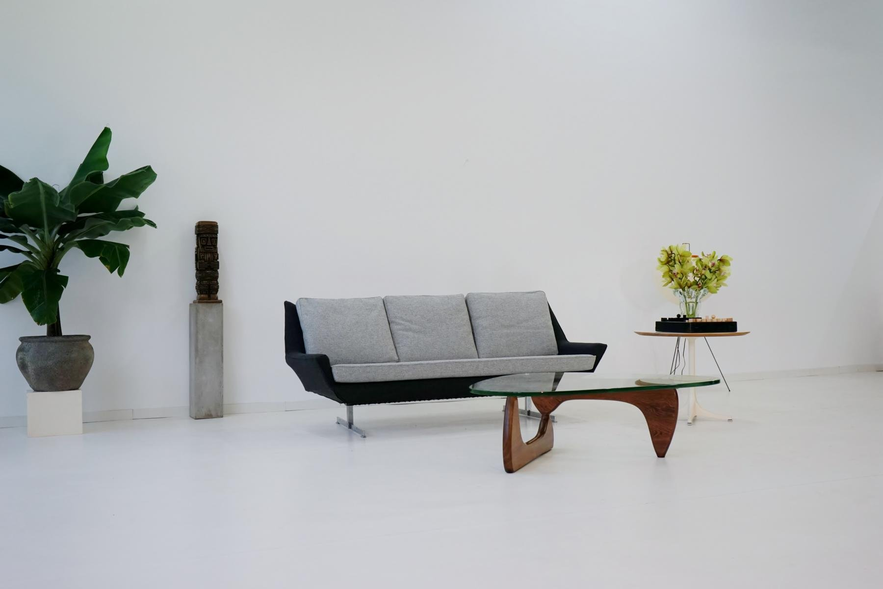 Mid century canap sofa from knoll for sale at pamono for Canape poltrone et sofa