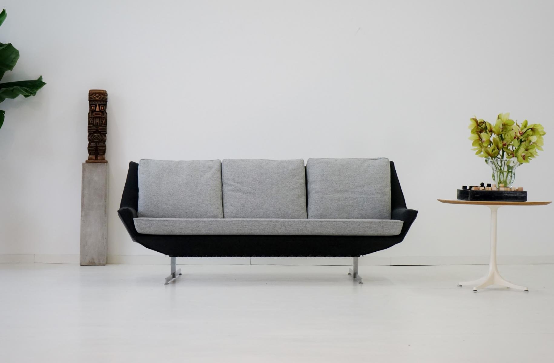 mid century canap sofa from knoll for sale at pamono. Black Bedroom Furniture Sets. Home Design Ideas
