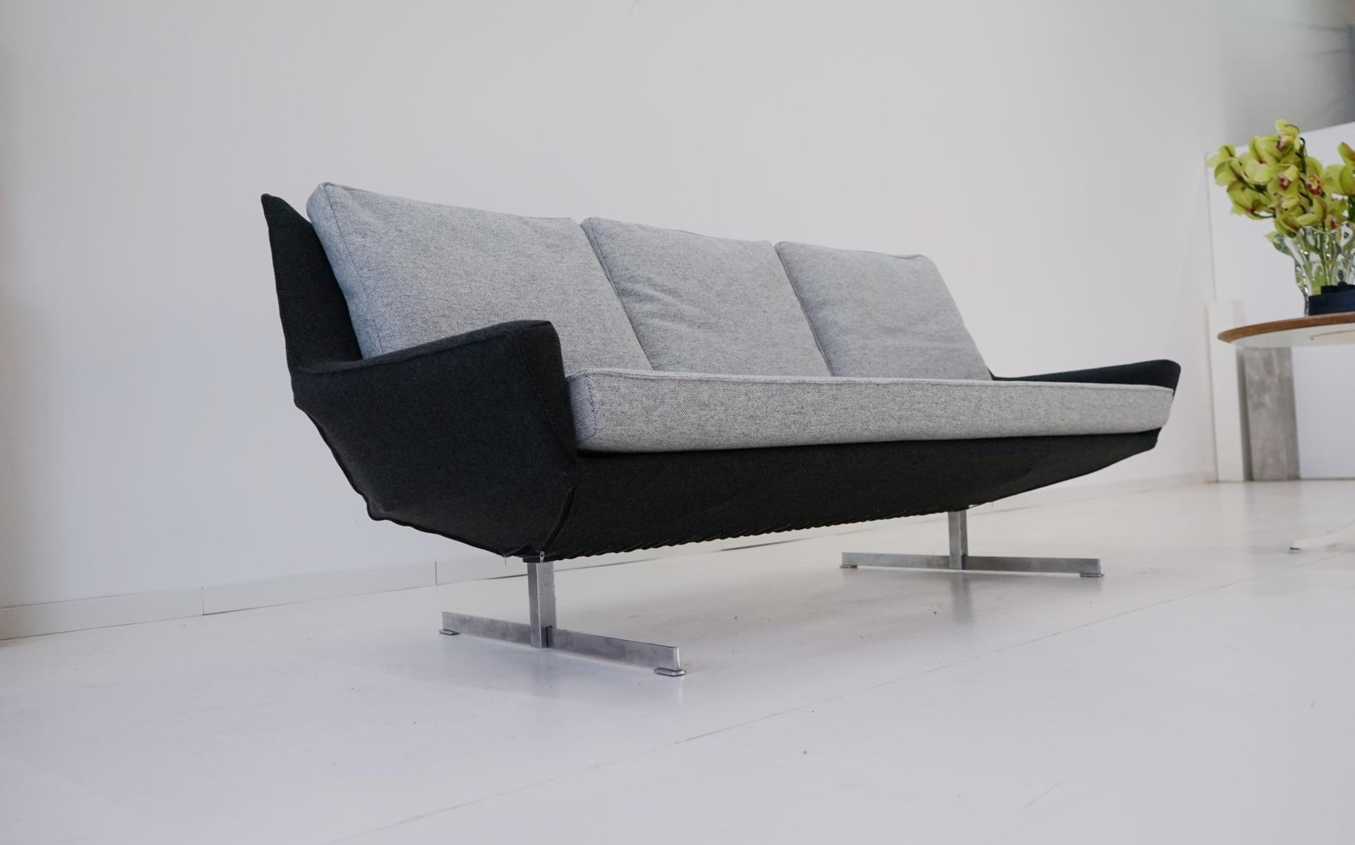 Mid century canap sofa from knoll for sale at pamono for Canape furniture