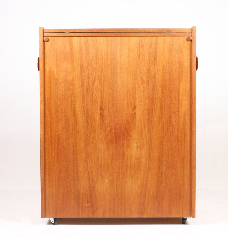 Danish Teak Dry Bar Cabinet from Dyrlund, 1960s for sale at Pamono