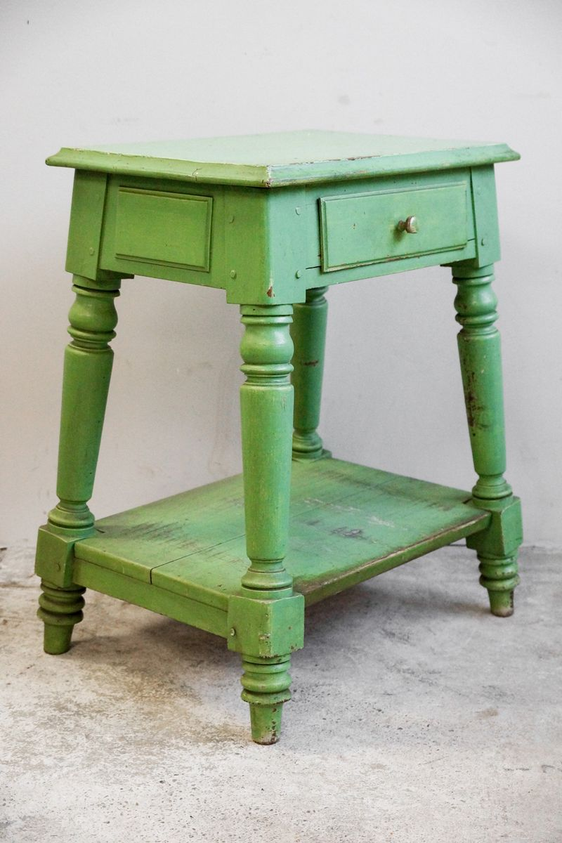 Antique wooden side table 19th century for sale at pamono for Table th href