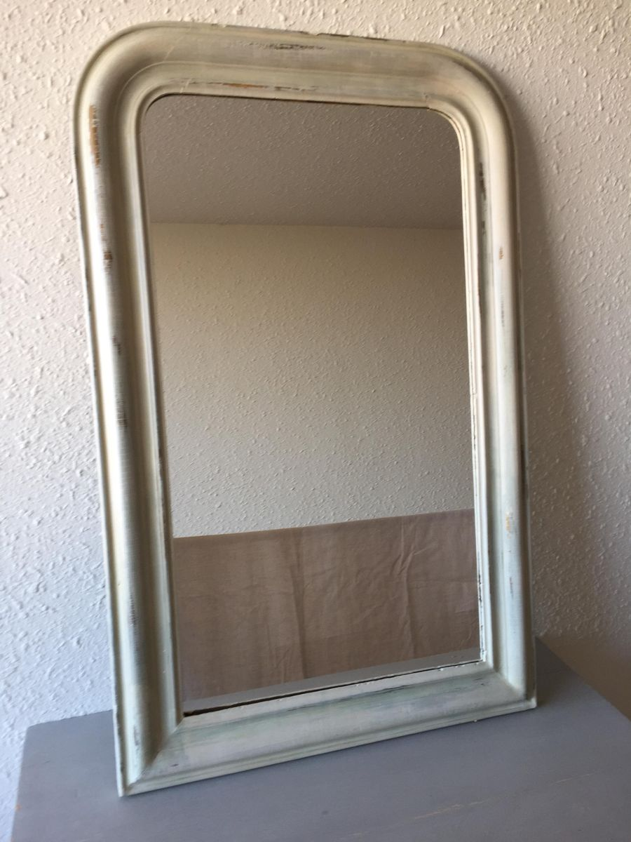 franz sischer spiegel im louis philippe stil bei pamono kaufen. Black Bedroom Furniture Sets. Home Design Ideas