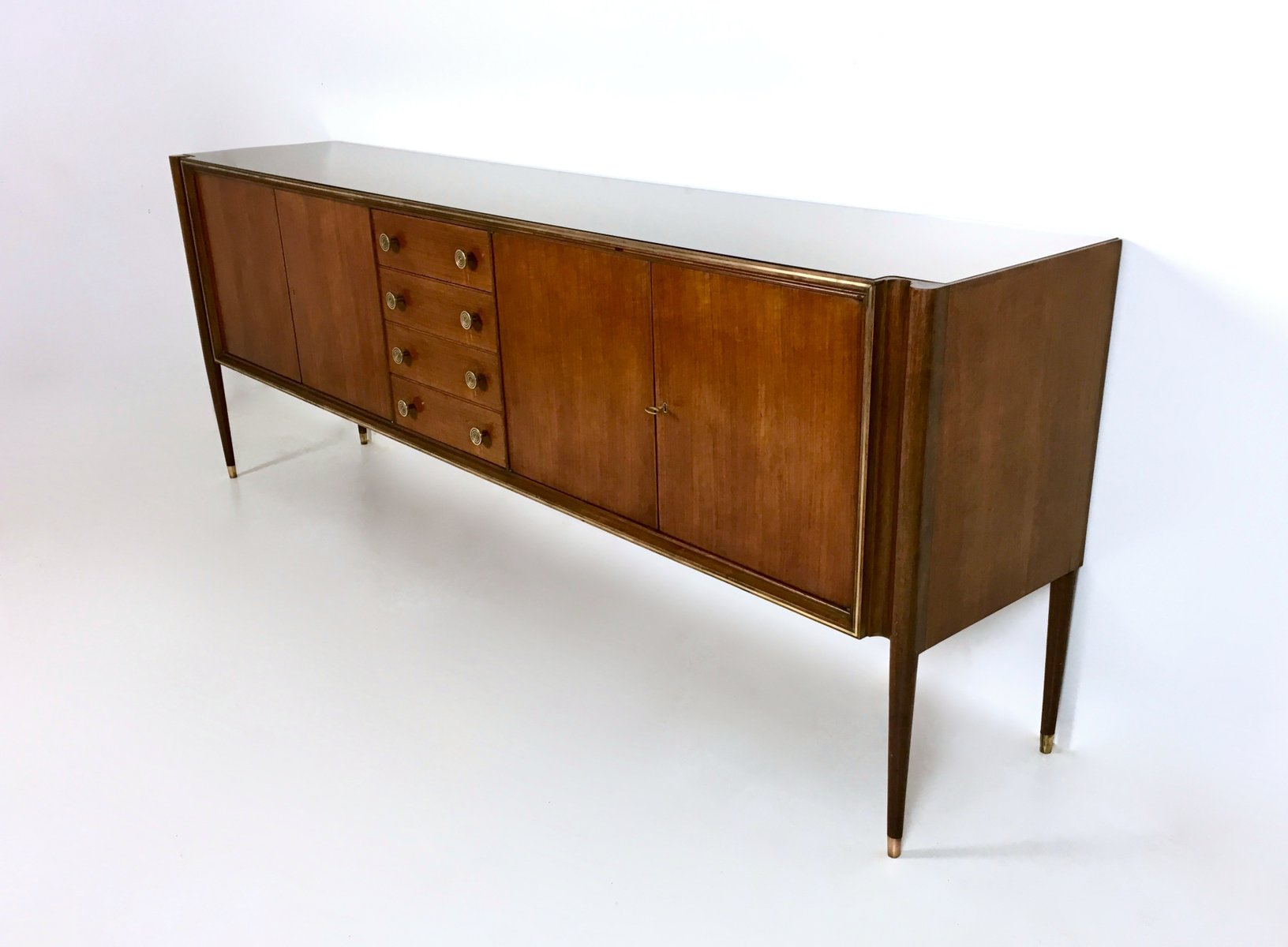 Italian walnut sideboard 1950s for sale at pamono for 1950 s credenza