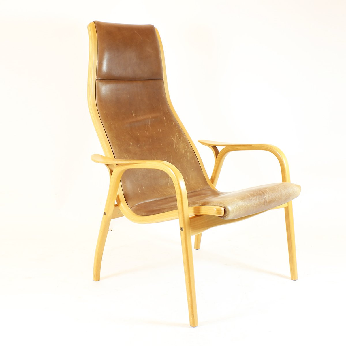 Lamino Lounge Chair by Yngve Ekström for Swedese, 1950s for sale at Pamono