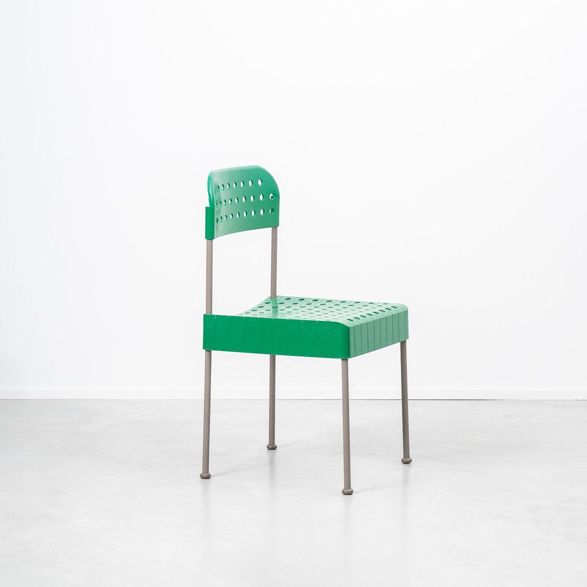 box stuhl von enzo mari f r castelli 1970er bei pamono kaufen. Black Bedroom Furniture Sets. Home Design Ideas
