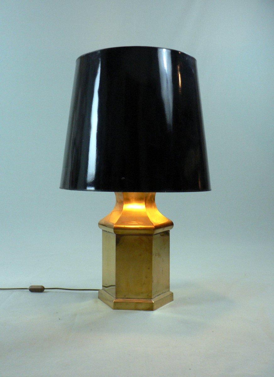 vintage messing tischlampe 1970er bei pamono kaufen. Black Bedroom Furniture Sets. Home Design Ideas