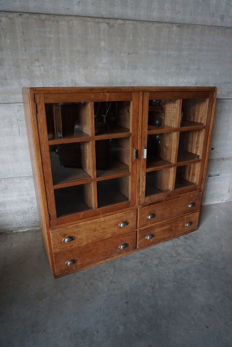 meuble de mercerie vintage allemagne 1950s en vente sur pamono. Black Bedroom Furniture Sets. Home Design Ideas
