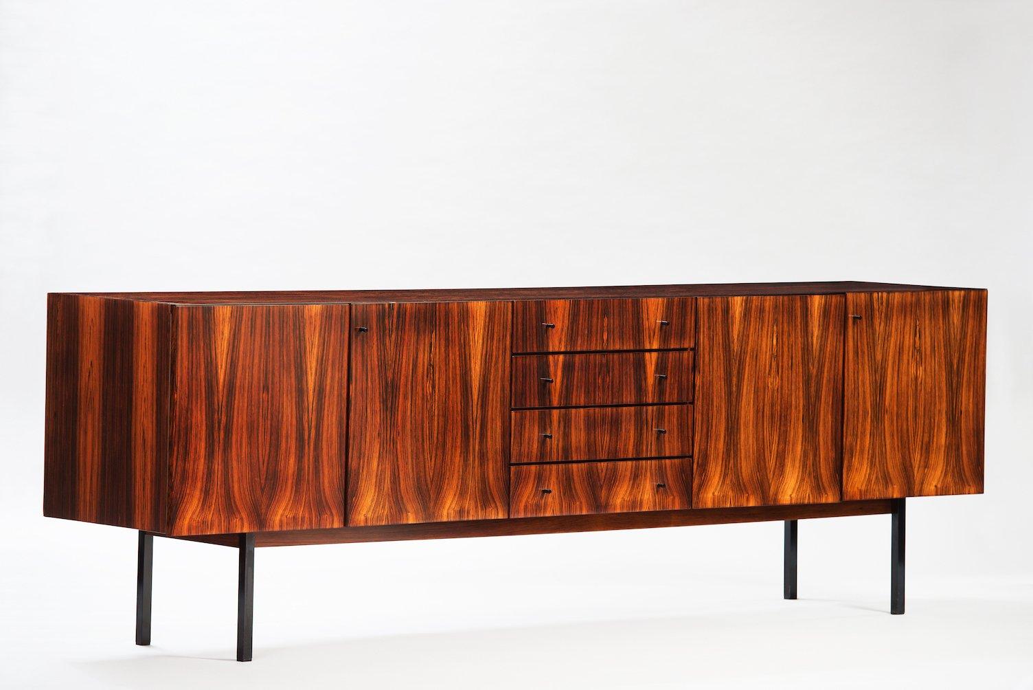palisander sideboard von wappenmobel bei pamono kaufen. Black Bedroom Furniture Sets. Home Design Ideas