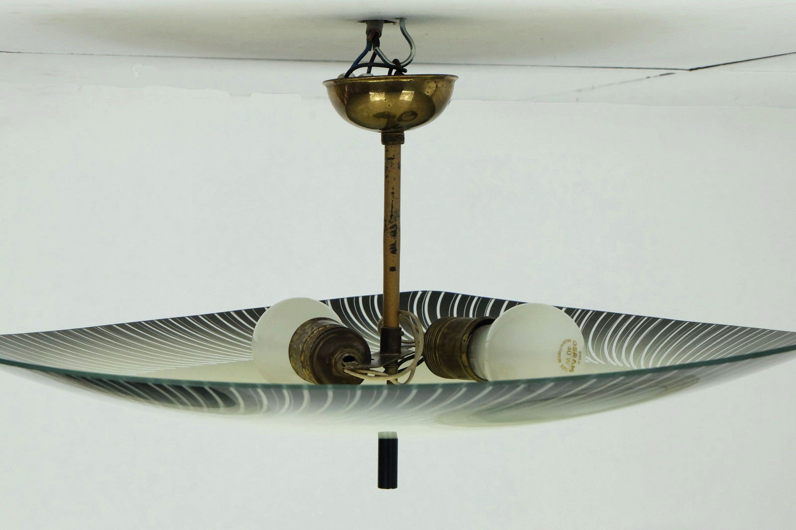 Mid century flying saucer ceiling lamp 1950s for sale at pamono price per piece arubaitofo Images