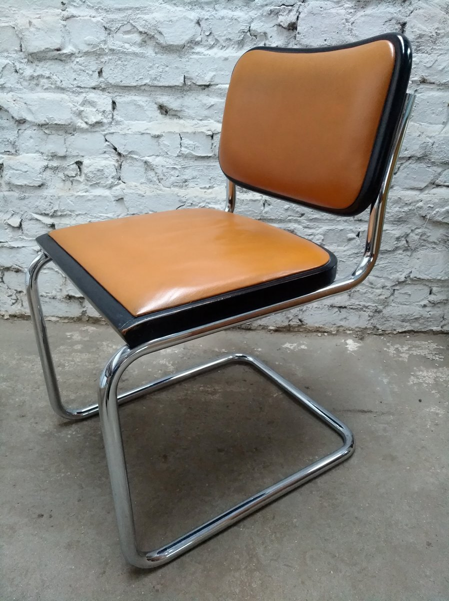 cesca chairs by marcel breuer for gavina s set of  for sale  - cesca chairs by marcel breuer for gavina s set of