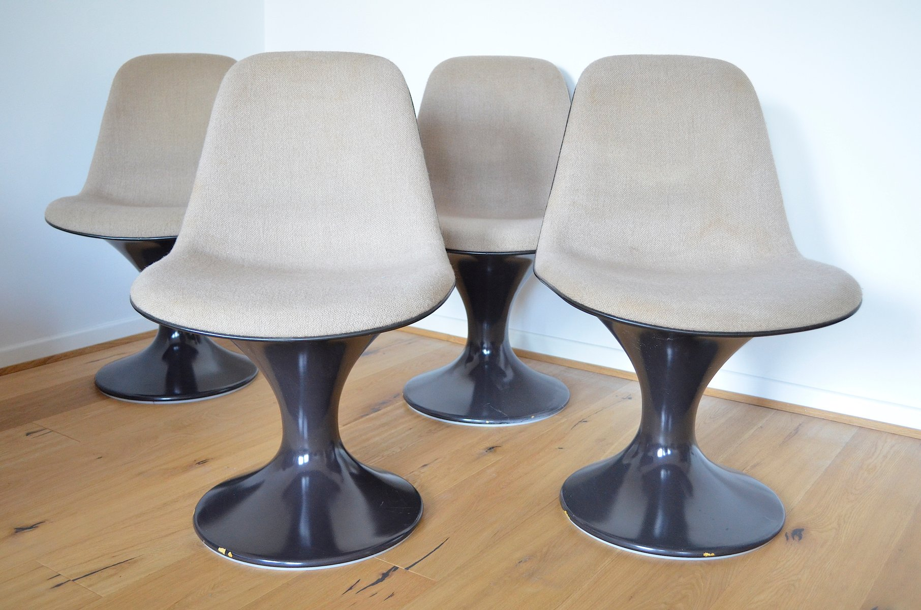 Orbit Chairs by Farner & Grunder for Herman Miller 1970s Set of