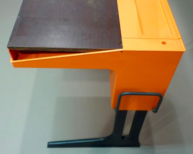 modular office deskluigi colani for flototto, 1970s for sale