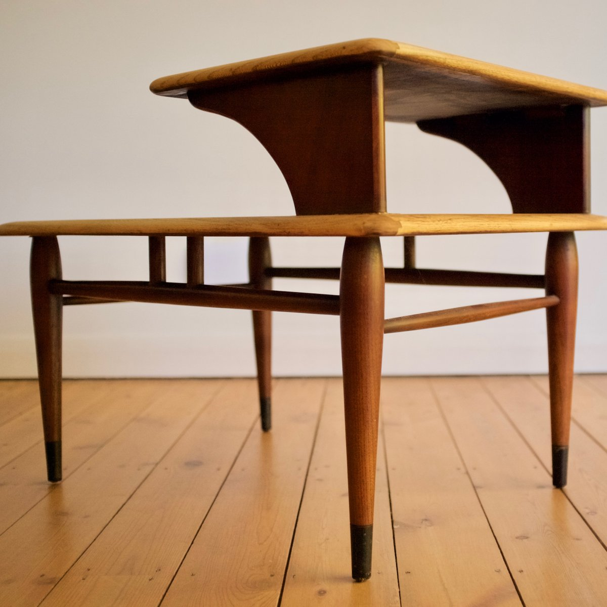 Mid century side table by andre bus for lane furniture for for 99 bus table