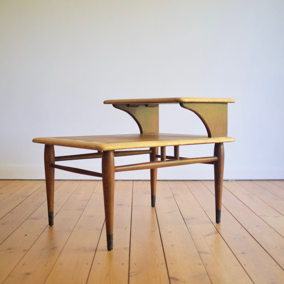 Mid century side table by andre bus for lane furniture for for Lane furniture