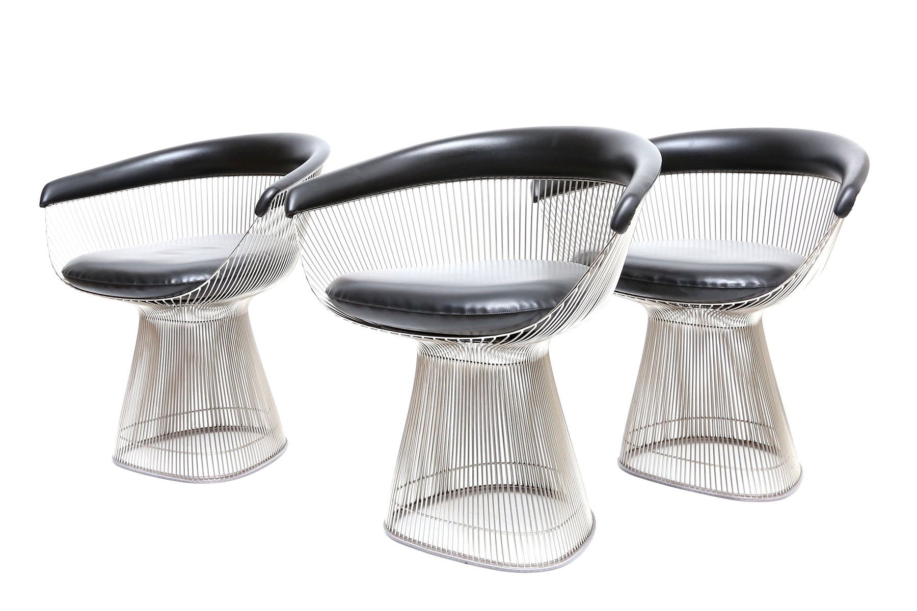 Vintage 1725A Armchairs by Warren Platner for Knoll International ...